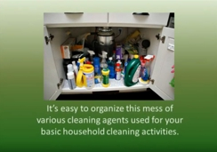 Organizing Cleaning Supplies Cabinet with GreenWyre