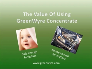 Saving Money Using Concentrated GreenWyre Cleaner