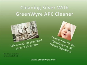 Cleaning Silver with GreenWyre